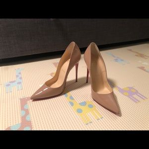 BRAND NEW Christian Louboutin shoes So Kate 120mm
